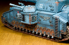 Imperial Guard Shadowsword Tank (Jay Adan) Tags: sf fiction miniature model painted 28mm guard science hobby 40k armor imperial warhammer kit wargame 40000 shadowsword jayadan