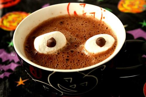 Halloween Marshmallow Staring Eyeballs