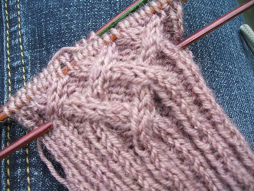 Knotty cable detail