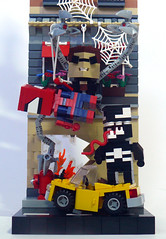 Spidey VS. Doc Ock & Venom! (Oky - Space Ranger) Tags: man green spider lego dude goblin cube octopus doc venom ock