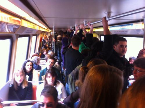 Packed Metro Car