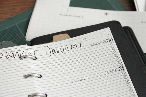 Agenda Inlay 2011