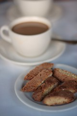 Ca'Dario - coffee and biscotti