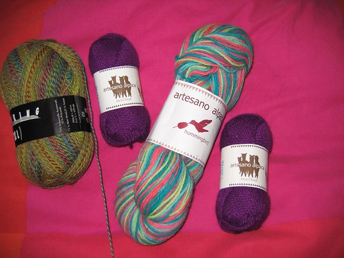 More yarn goodies