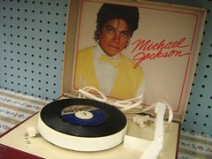 michael jackson record player