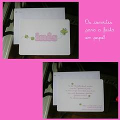 Convites em papel