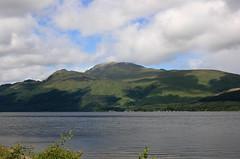 Loch Lomond with Ben Lomond in background
