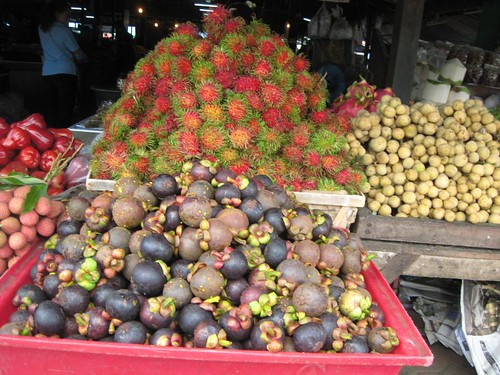 Fruits, tropical-style
