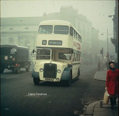 Darlington in the 1960s (Lady Wulfrun) Tags: bus guy classic buses cab north transport leeds east corporation arab darlington 1960s enduring roe hald 462 bodied dhn