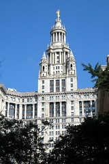 NYC - Civic Center - Municipal Building by wallyg, on Flickr