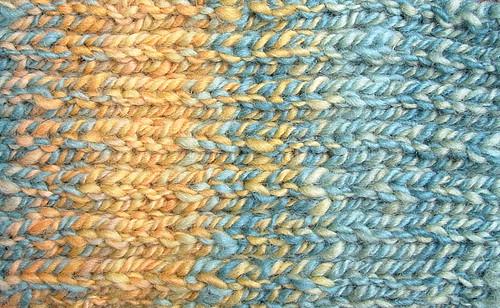 handspun scarf detail 1