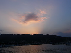 sunset over It port #7658 (Nemo's great uncle) Tags: sunset izu    eastizu  shizuokaprefecture  it