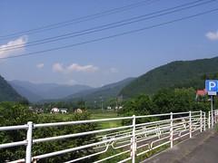 猿ヶ京から三国峠を望む