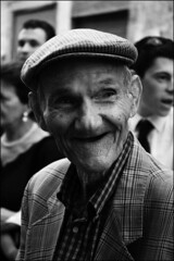 No Global (Mario M.) Tags: portrait people bw streetpeople noglobal bnritratto bnvitadistrada bnpersone fav2012