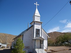 Santa Barbara Church (Gunsablazin) Tags: santa church desert barbara mojave randsberg