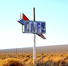 Cafe/Rocks (stars4esther) Tags: california sign cafe rocks desert socal mojave southerncalifornia californiacity hwy58 kerncounty calcity northedwards stars4esther