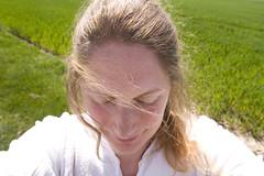 fieldside (Djuliet) Tags: selfportrait green field day113 fieldside seaofgreen 365days