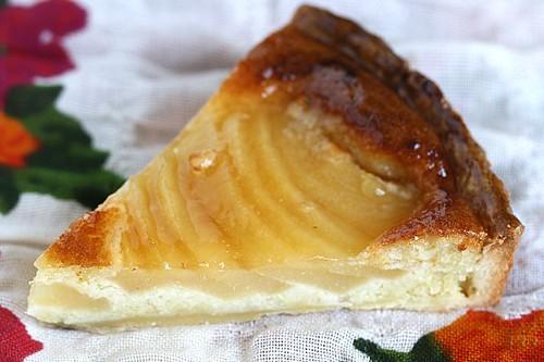 Almond Pear Tart - Tarte Amandine aux Poires 0266-1550