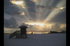 Tonight (video version) (Cameron Moll) Tags: sunset beach florida siestakey
