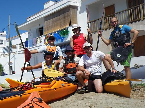 Vuelta a Menorca en kayak 1