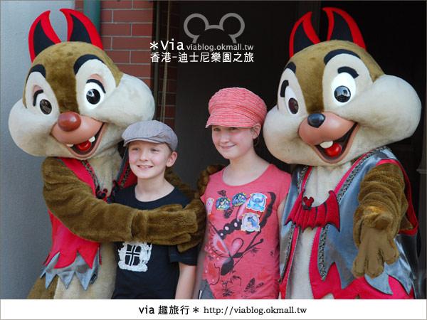 【香港自由行】跟著via玩香港(1)~爆走香港迪士尼樂園50