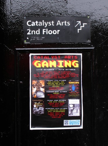 Catalyst Arts Door and Gaming Poster