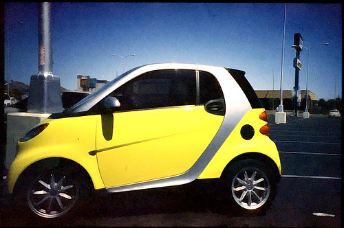 smart car - lomo lc-a+ xpro c41 to e6 - CC
