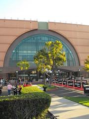 Red Carpet Outside Honda Center (ian293) Tags: red usa night honda carpet ducks center opening anaheim