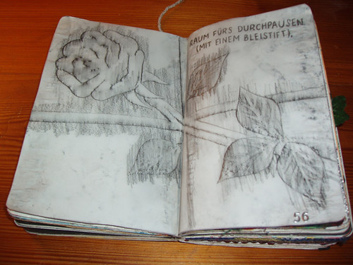 Wreck This Journal: Do Some Rubbings With A Pencil.