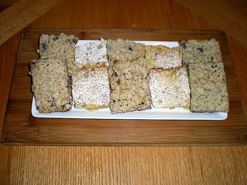 Raspberry Crumb Bars & Citrus Bars