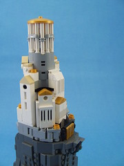 Olympus (Shadow Viking) Tags: city mountain castle home greek ancient lego citadel forum religion olympus palace mount greece gods fortress mythology olympos mountolympus microscale foitsop