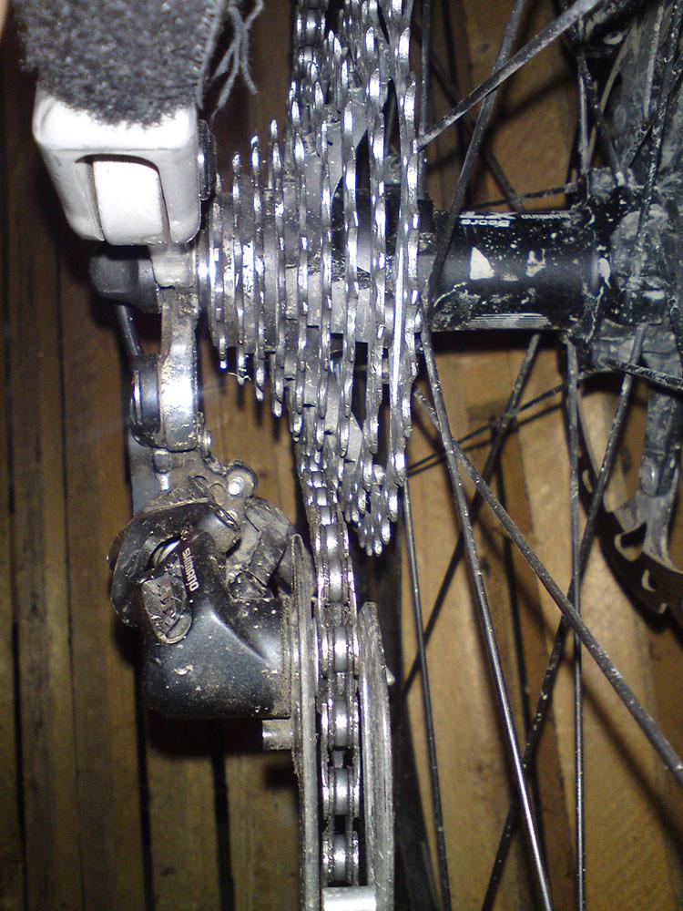 fahrradkette springt immer ab