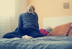 201.- loneliness (lucia meler maura) Tags: selfportrait loneliness autoretrato soledad habitacin 2010 tiempo intimidad elcuartooscuroestudio