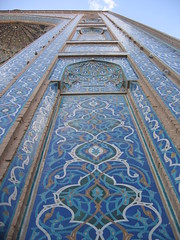 Day 3: Yazd - Jameh Mosque (entrance) (birdfarm) Tags: iran mosque tiles ایران yazd tilework یزد fridaymosque jamemosque jamehmosque مسجدجامع مسجدجامعیزد persiantiles