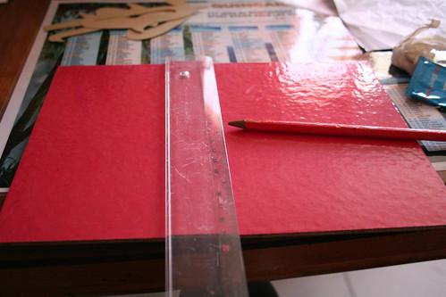 Fabrication de matériel, les lettres rugueuses