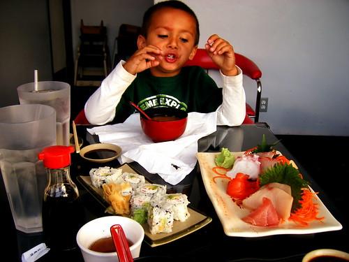 "Say, ""Sushi!"""