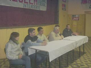 Referentes del Partido Nuevo junto al candidato a Intendente