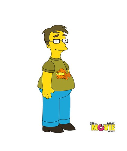 A simpsons me