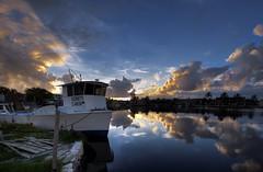 Fishing Boat - Florida Keys (Bob Jagendorf) Tags: sunset water keys boat florida anawesomeshot superbmasterpiece jagendorf