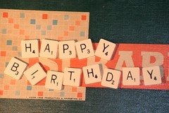 scrabble birthday