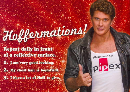 Hasselhoff-Pipex ads