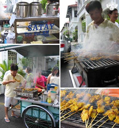 Penang's Bangkok Lane Pork Satay