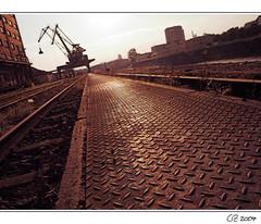 / \ / X \ / \ / \ / \ / \ / \ / \ / / \ (ARTINOAH [...]) Tags: harbour main east artinoah guesswherefrankfurt vfrankfurt