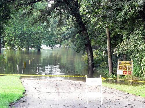 Kishwaukee River Forest Preserve Flooding