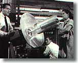 Dr. Marvin (Hugh Marlowe) and Carol (Joan Taylor)
