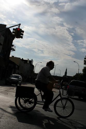 Trike at dusk