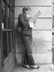 Une femme à Paris
