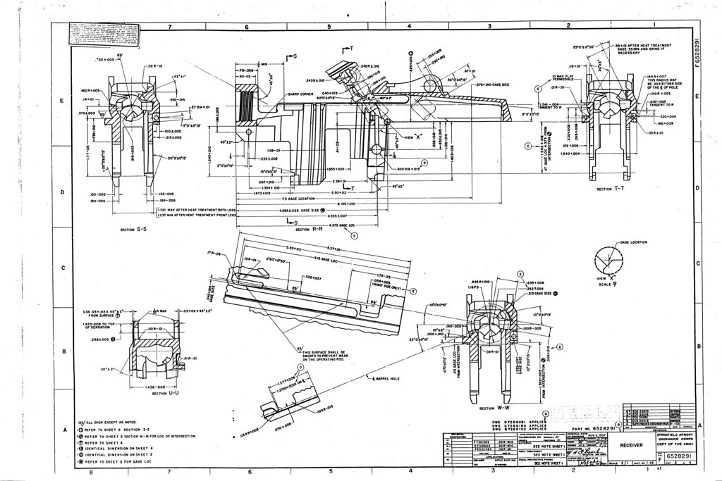 M1 Garand Rifle Blueprints Now with 56K Death - AR15.COM