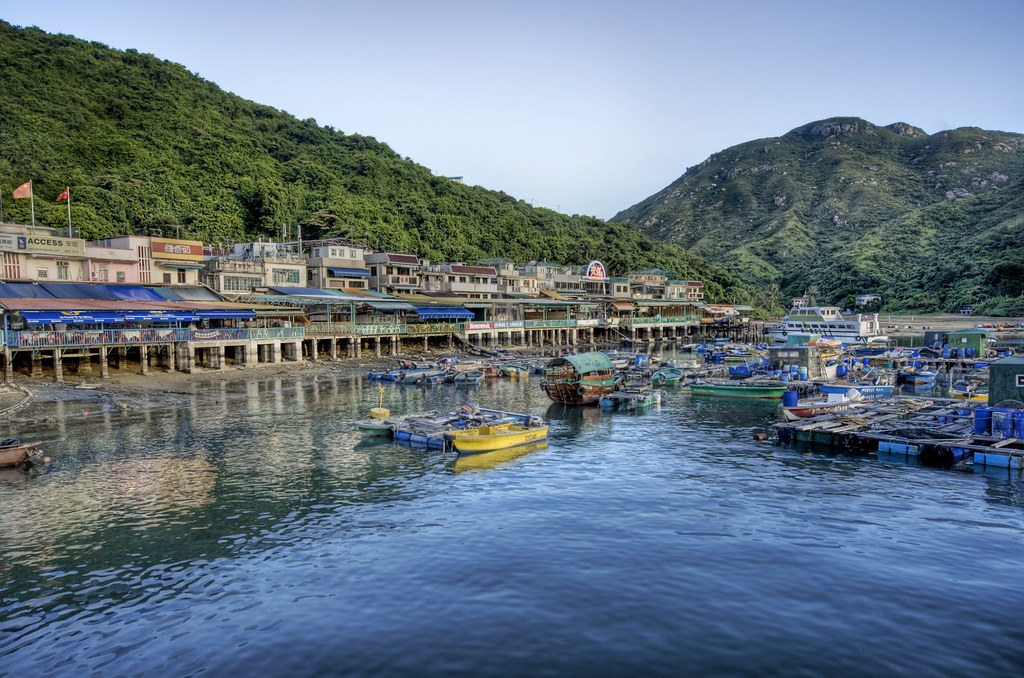 The Blue of Lamma Island