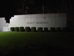 Beirut Memorial (03Marine) Tags: vets veterans usmc semper semperfi oct memorial medal marines marine honor heroes hero gun grunts grunt globe fi flag ega combat bombing beirut attack 1983 0311 lebanon camp johnson geiger lejune 241 dead kia killed wall names 8th 18 alpha company